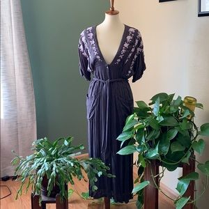 Like New Free People Embroidered Dress